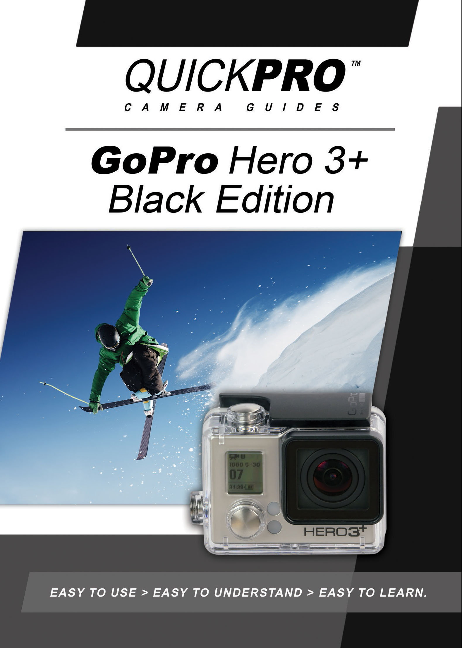 gopro hero 3 instructional guide by quickpro quickpro. Black Bedroom Furniture Sets. Home Design Ideas